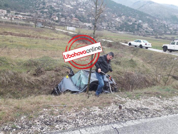 Aksidenti i rëndë me dy viktima në Grapsh, foto nga vendi i ngjarjes (FOTO)