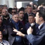 Presin të iki Rama, demokratët e Libohovës sërish në çadrën protestës (FOTO)