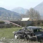 FOTO nga aksidenti te Kthesa e Picarit, kryebashkiakja Zamira Rami në vendin e ngjarjes
