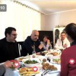 Gjirokastër, Rama ia shtron me qifqi dhe byrek te Mimoza dhe Grigori (VIDEO)