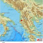 Dy tërmete lëkundin jugun e Shqipërisë