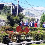FOTO LAJM/ 5 Maji në Gjirokastër, bëhen bashkë dy Flamurët