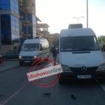 """FOTO nga aksidenti në Gjirokastër me dy të plagosur rëndë, cfarë ndodhi sot pranë lagjes """"Punëtore"""""""