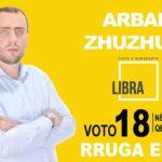 I riu nga Libohova kandidat për deputet i LIBRA-s, Arban Zhuzhuni: Ndryshimi po vjen edhe në Shqipëri