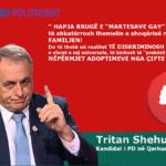 LGBT thirrje gjirokastritëve: Mos votoni një homofob si Tritan Shehu