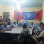 Tritan Shehu në Libohovë, takon simpatizantët e PD-së te zyra elektorale (FOTO)
