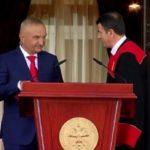 Ilir Meta betohet si Presidenti i Republikës së Shqipërisë