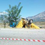 Policia zbardh aksidentin te 'Kthesa e Libohovës', çon në Prokurori 35-vjeçarin