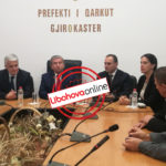 Flamur Bime dorëzon detyrën, prezantohet Prefekti i ri i Gjirokastrës (FOTO)