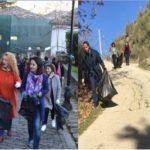 Aksioni i pastrimit/ Në Gjirokastër mungon Zamira Rami, në Libohovë Luiza Mandi