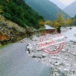 Pasojat e përmbytjeve, shihni pamjen e re të rrugës në Klishar dhe Selo (FOTO)
