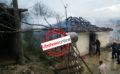 Shkëndija elektrike, digjet një shtëpi në Gjirokastër (FOTO)