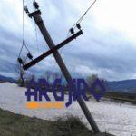 Pasojat e përmbytjeve në Gjirokastër, shihni dëmtimet në rrjetin elektrik (FOTO)