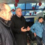 Tritan Shehu, viziton Gjirokastrën e përmbytur (FOTO)