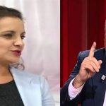 Zamira Rami tallet me Tritan Shehun: Shyqyr që u ktheve në zonën elektorale të shohësh problemet…