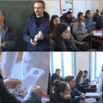 Këshillim karriere për maturantët, Universiteti 'Eqrem Çabej' nis fushatën informuese në gjimnazet e Gjirokastrës (FOTO)