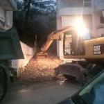 Ushtria nis aksionin për heqjen e baltës nga pallati në Gjirokastër