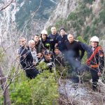 Dropull, shpëtohen alpinistët e izoluar në Malin e Sotirës (VIDEO)