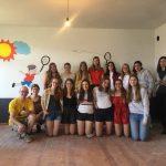 Nxënësit nga Belgjika kontribuojnë për kopshtin e Libohovës (FOTO)
