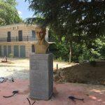 Punimet për qendrën e Libohovës, rivendoset busti i Avni Rustemit