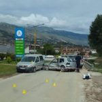 Aksidenti në Kordhocë, si u përplasën tre automjete (FOTO)