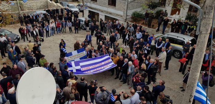 Dropull, grekët nisin provokimet dhe parrullat nacionaliste në Bularat (FOTO)