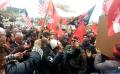 Marshim kuqezi në Gjirokastër kundër vrasjes së shqiptarëve në Greqi (VIDEO)