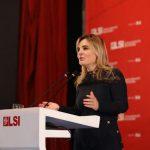 Monika Kryemadhi takim në Gjirokastër: Ne jemi shpresa, duhet të përmbysim regjimin e Ramës (VIDEO)