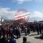 Mungon Vangjel Tavo e Zamira Rami, PD proteston në Gjirokastër: Të rrëzojmë Edi Ramën një orë e më parë (FOTO)