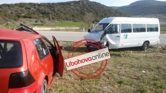 Aksident i rëndë, 8 të plagosur mbërrijnë në spitalin e Gjirokastrës, një vajzë dërgohet drejt Tiranës