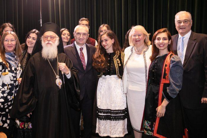 Festa Kombëtare e Greqisë, Meta: Shqiptarët dhe grekët meritojnë të jetojnë gjithmonë në harmoni e begati