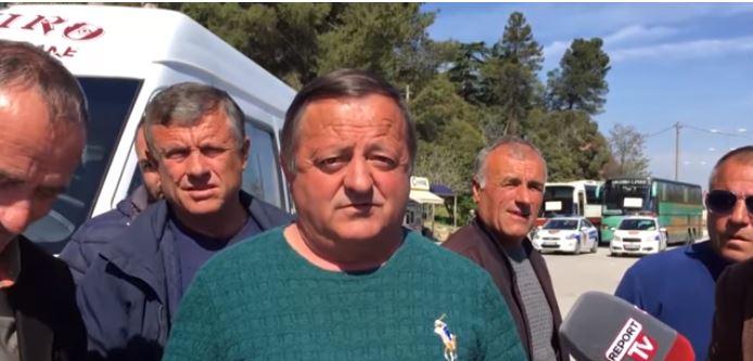 Qyfyre nga Gjirokastra, shoferët e 'Argjiros' akuzojnë Luiza Mandin pse ka shkuar në ministri dhe ka kërkuar të mos hiqet linja Libohovë-Tiranë