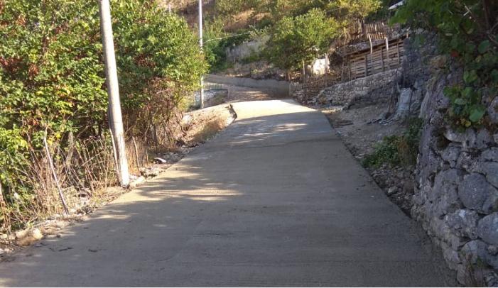 Bashkia Libohovë rikonstrukton rrugët e brendshme (FOTO)