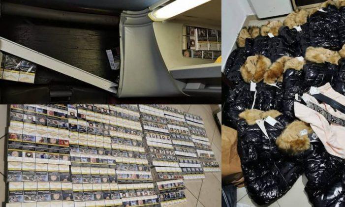 Cigare dhe rroba kontrabandë, pranga shoferit të autobusit në Kakavijë