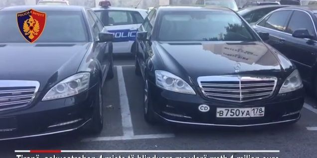 Gjirokastër, policia sekuestron 10 makina luksoze