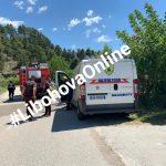 Merr flakë makina e blinduar që përdoret për transportin e parave të pensioneve në Libohovë (FOTO)