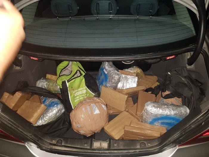 Dy të arrestuar në Gjirokastër, tentuan të transportonin 21 kg kanabis drejt Greqisë
