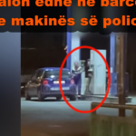 """Shefi i rendit në policinë e Gjirokastrës """"kapet mat"""", vjedh naftën me bidona nga pika e karburantit (VIDEO)"""