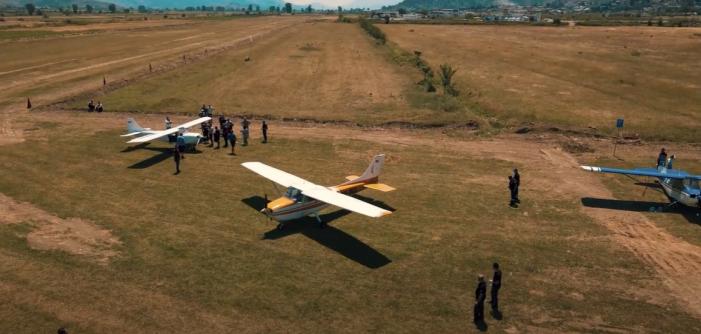 Shihni çfarë ndodhi sot në Aeroportin e Gjirokastrës (VIDEO)