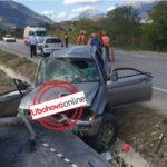 Detaje nga aksidenti në Mashkullorë, si u përplas makina me 5 persona nga Saranda