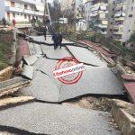 Situatë apokaliptike në Gjirokastër, rrugë të shkatërruara dhe një pallat që rrezikon shembjen (FOTO)