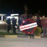 'Nuk jetohet mes baltës dhe lagështirës', banorët e pallatit te 'Kodra e Shtufit' dalin në protestë