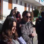 Gjirokastër, studentët e shkencave të natyrës zhvillojnë orë mësimore në masivet që rrëshqitën te 'Kodra e Shtufit' (VIDEO)
