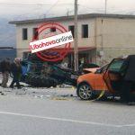 Aksident tragjik në Gjirokastër, vdes 25-vjeçari, plagosen tre të tjerë